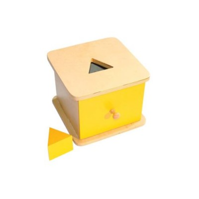 Caseta cu prisma triunghiulara si sertar