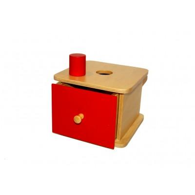 Caseta cu cilindru mare si sertar