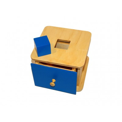 Caseta cu cub si sertar