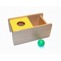 Imbucare Box With Flip Lid - Knit Ball