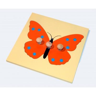 Fluture puzzle