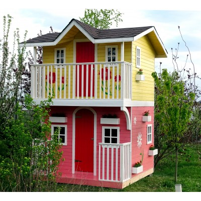 Wooden house for children 26