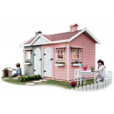 Wooden house for children 25