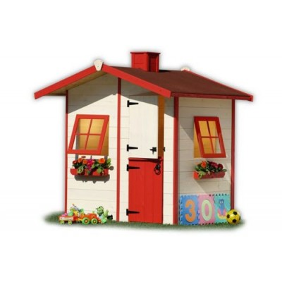 Wooden house for children 07