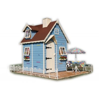 Wooden house for children 23