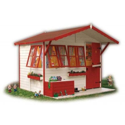 Wooden house for children 15