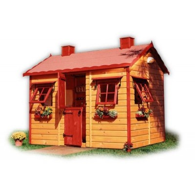 Wooden house for children 14