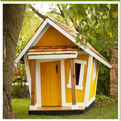 Wooden house for children 05
