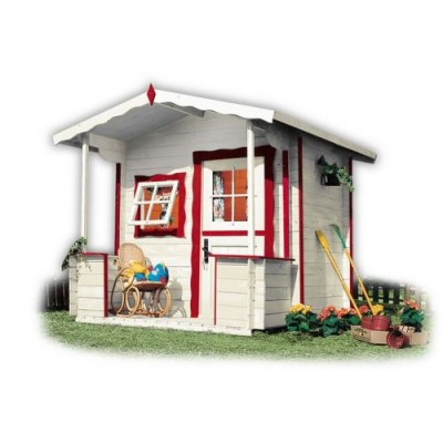 Wooden house for children 12