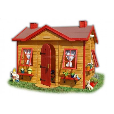 Wooden house for children 11