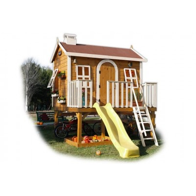 Wooden house for children 16