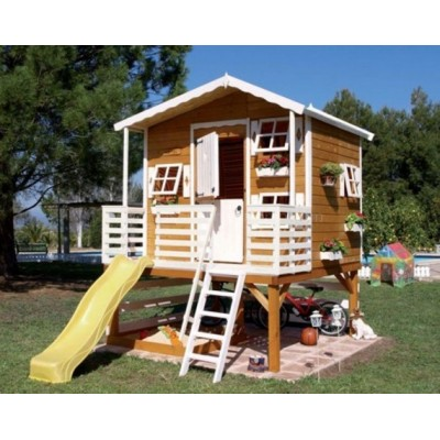 Wooden house for children 18