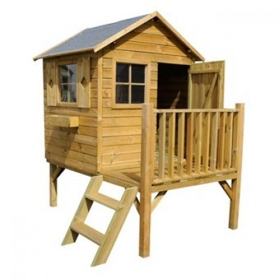 Wooden house for children 03