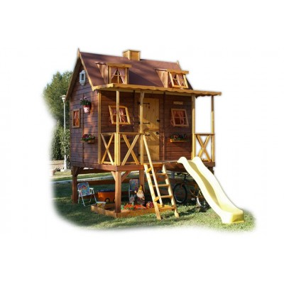 Wooden house for children 24