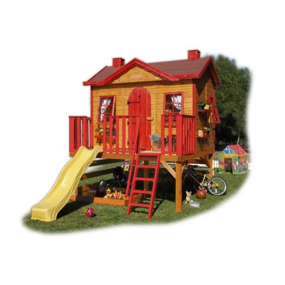 Wooden house for children 21