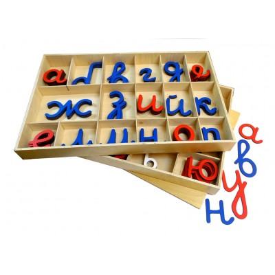 Alfabet mobil cursiv, Clasic - Chirilic