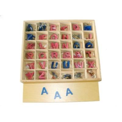 Alfabet mobil litere mari Arial