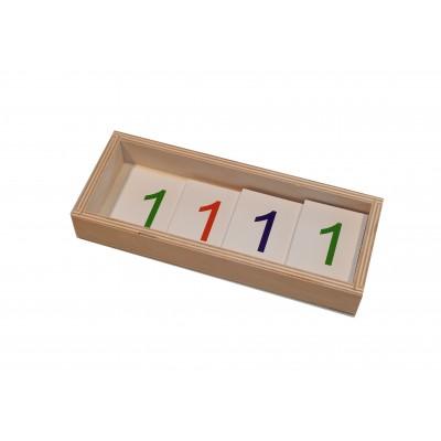 Jetoane mari 1-1000 - introducerea simbolurilor