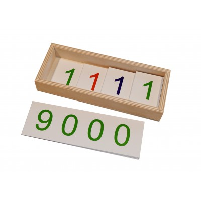 Jetoane mari 1-9000 - introducerea simbolurilor