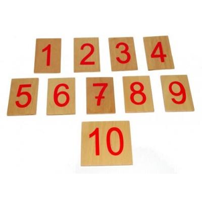 Jetoane cu numere pentru barele de numarat