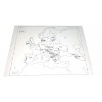 Harta de control pentru acasa Europa