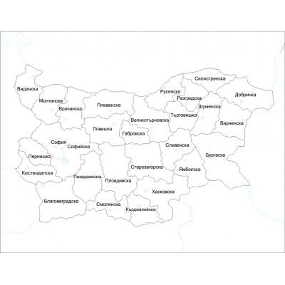 Harta de control pentru acasa - Bulgaria