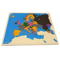 Puzzle Map for Home - Europe