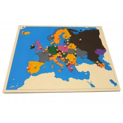 Harta puzzle pentru acasa - Europa